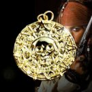 Pirates of the Caribbean JACK SPARROW AZTEC Coin Costume Necklace 24K Gold