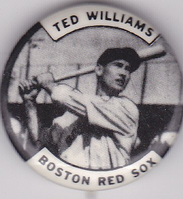 Vintage Ted Williams pin
