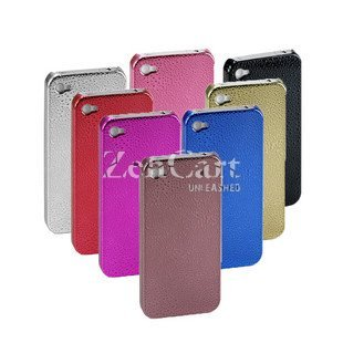100 x Protect back cover for i Phone 4 in electro-plating water drop effect wholesales