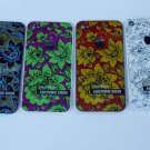 50 x back cover battery door for i phone 4 s in flower pattern wholesales