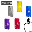 100 x Protect back cover for iPhone 4 4s in electro-plating diamond effects-4th log wholesales