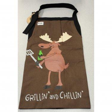Apron-Grillin and Chillin #2428 LO