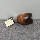 Hand Turned Live Edge Redwood Wine Stopper #1010i