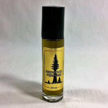 Redwood Perfume Woodsy Scent Made from Redwood Tree Needles 1/3 oz. #1026 HWP