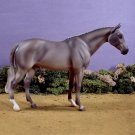Model Hunter Horse ALMOST GONE Porcelain Grey Lakeshore Collection
