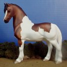 LAST ONE!  Model Horse Pinto Porcelain Pony Statue Ed of 25 Made