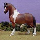 Model Pinto Horse Pony Statue Porcelain China Ltd Ed/1000
