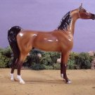 NEW Model Horse Satin Gloss Bay Arabian Porcelain Limited Ed Lakeshore Collection