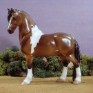 NEW Model Pinto Horse Pony Statue Porcelain China Ltd Ed Lakeshore Collection