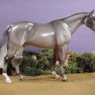 NEW! Model Horse Satin Gloss Grey Hunter Porcelain Limited Ed Lakeshore Collect