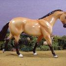 NEW!  Model Horse Porcelain Satin Buckskin Lakeshore Collection