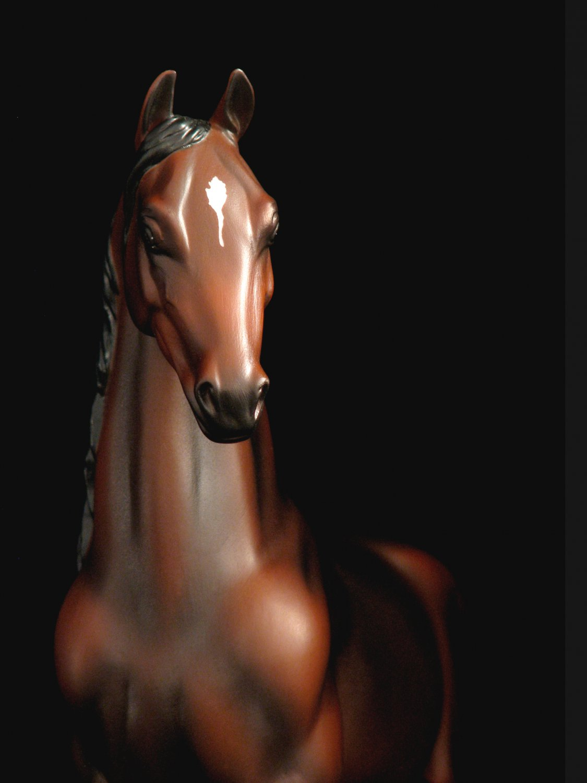 Model Horse Statue Equine Art Porcelain China Ltd Ed/1000 Rare