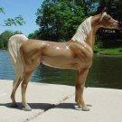 NEW Model Horse Satin Flaxen Chestnut Arabian Porcelain Ltd Ed Lakeshore Collec