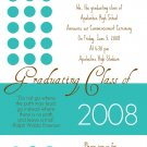 Dots-Graduation Invitations
