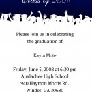 Hats Off-Graduation Invitations