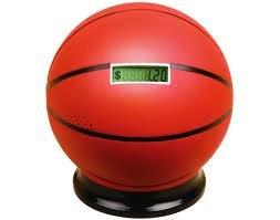 Basketball piggy bank
