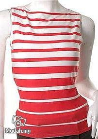 vintage inspired 1950s 1960s models off duty style fashion clothing stripes boatneck