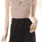 USA 4/6 POLKADOT MINI DRESS models off duty style fashion clothing VINTAGE INSPIRED 1960S A-LINE MOD
