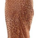 models off duty style fashion clothing leopard print pencil skirt