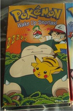 Pokemon Video Wake Up Snorlax