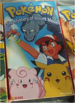 Pokemon Video The Mystery of Mount Moon