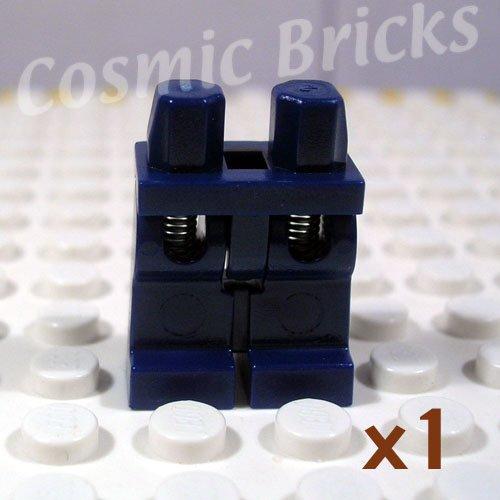 LEGO Dark Blue Hips and Legs Spring Legs (single,N)