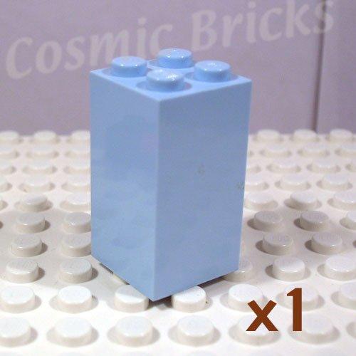 LEGO Light Blue Brick 2x2x3 4163697 30145 (single,N)