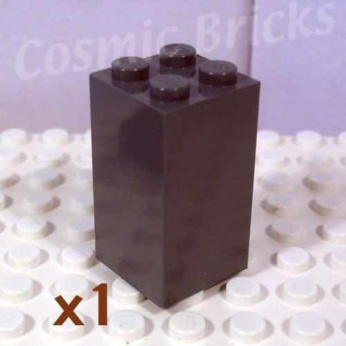 LEGO Dark Bluish Gray Brick 2x2x3 4227007 30145 (single,N)