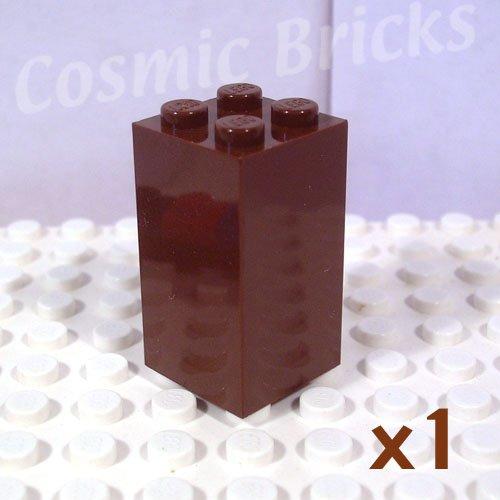 LEGO Brown Brick 2x2x3 4113260 30145 (single,N)