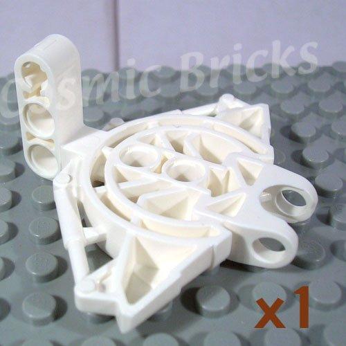 LEGO White Bionicle Vahki Torso Upper Section 47331 (single,N)