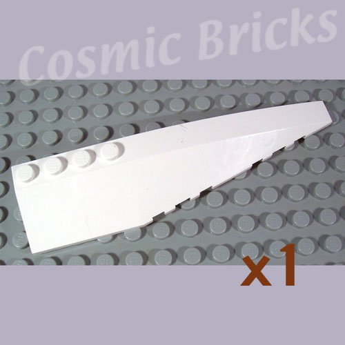 LEGO White Wedge 12x3 Right 4162779 42060 (single,N)