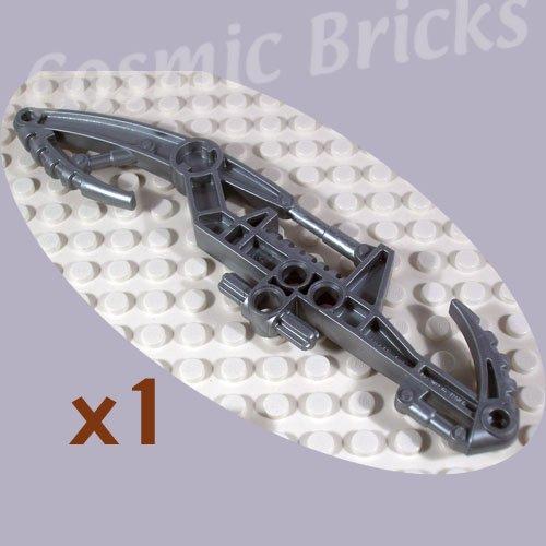 LEGO Flat Silver Bionicle Weapon Vahki Staff of Suggestion Zadakh 48446 (single,N)