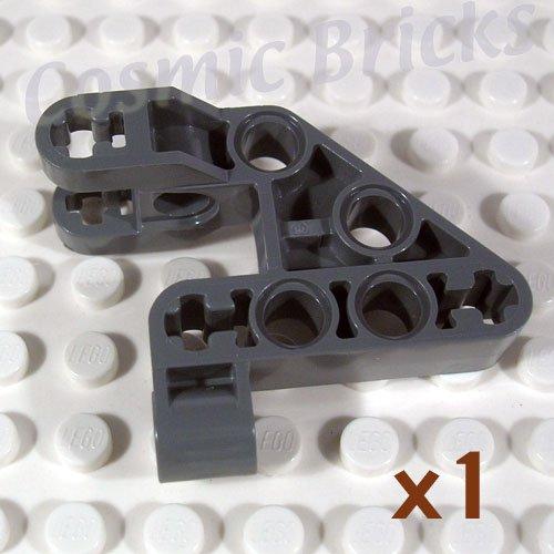 LEGO Dark Bluish Gray Bionicle Rahkshi Torso Lower Section 4210938 44135 (single,N)