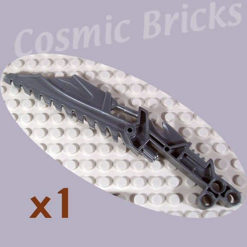 LEGO Flat Silver Bionicle Weapon Vahki Staff of Confusion Keerakh 4227491 47335 (single,N)