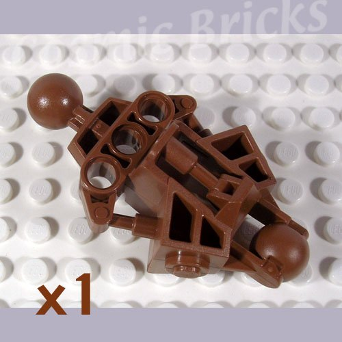 LEGO Dark Flesh Bionicle Vahki Leg Lower Section 4289384 47328 (single,N)