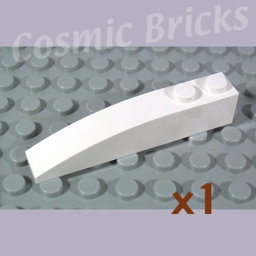 LEGO White Slope Curved 6x1 4160387 42022 (single,N)