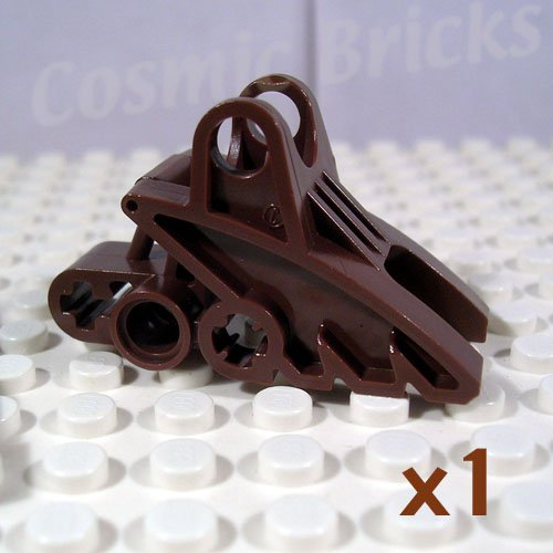 LEGO Brown Bionicle Foot Ball Joint Socket 2x3x5 4162077 41668 (single,N)