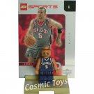 LEGO Jason Kidd NBA minifig, stand and chrome trading card (single,N)