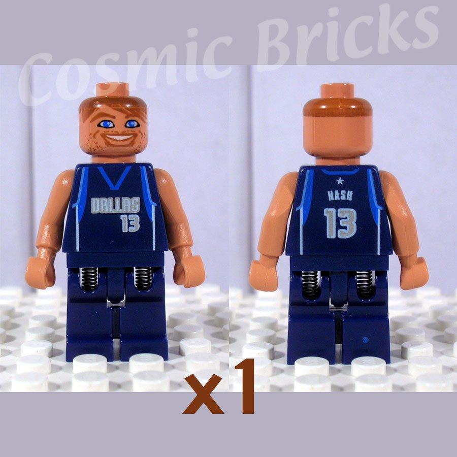LEGO NBA Steve Nash Dallas Mavericks #13 minifigure (single,N)
