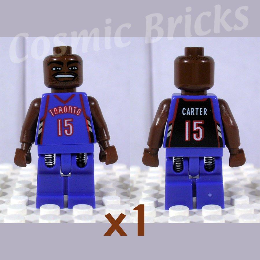 LEGO NBA Vince Carter Toronto Raptors #15 minifigure (single,N)