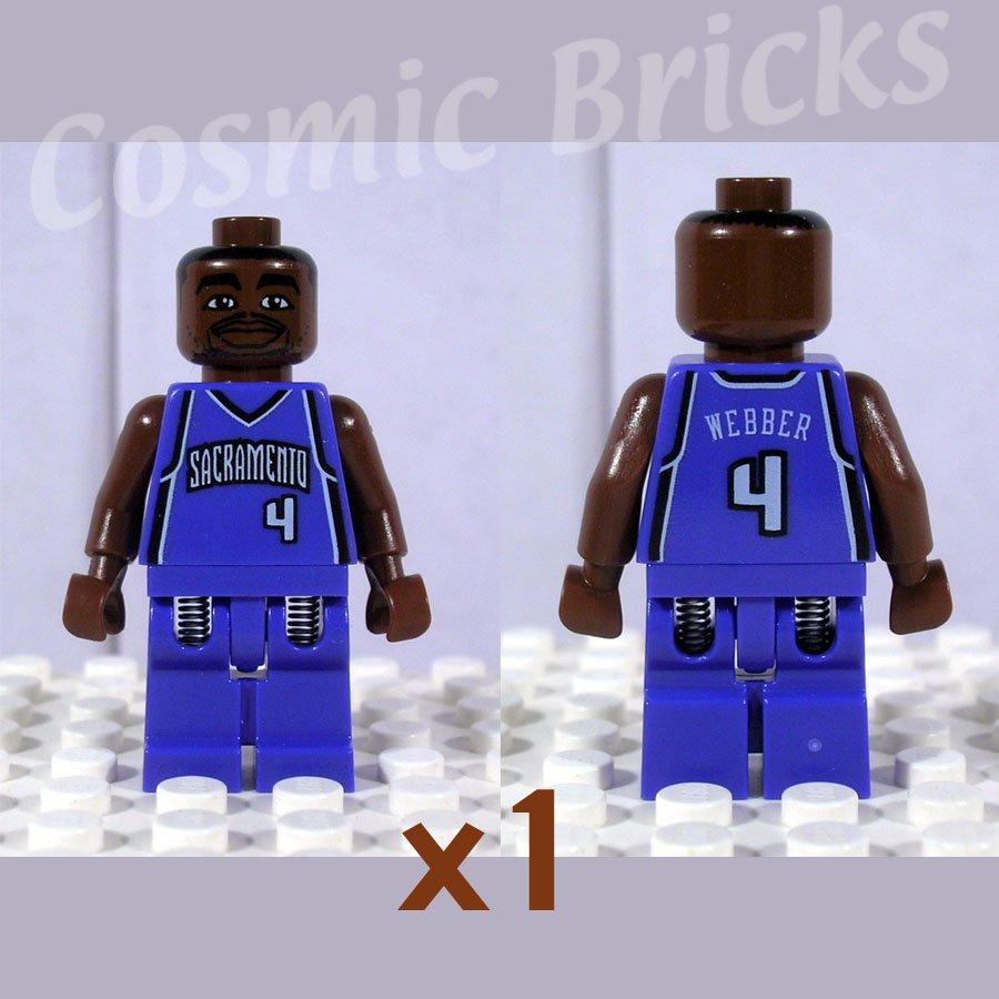 LEGO NBA Chris Webber, Sacramento Kings #4 minifigure (single,N)