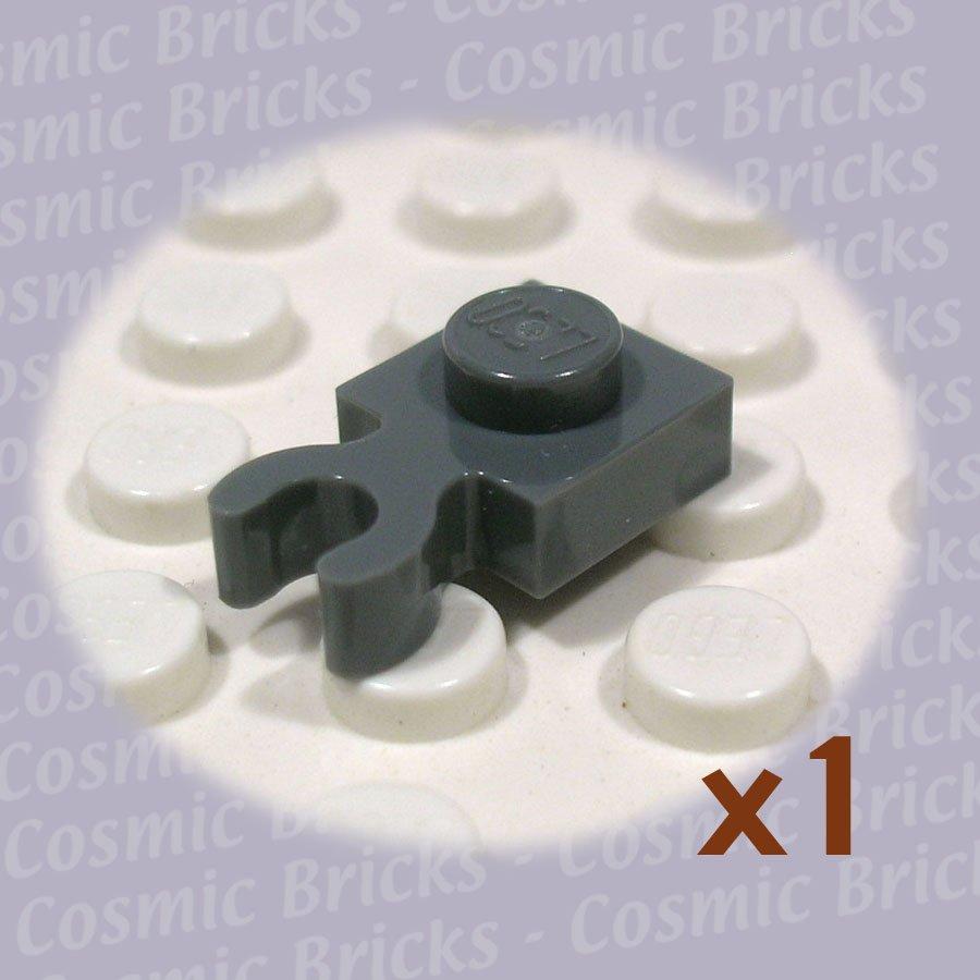 LEGO Dark Stone Grey Plate Modified 1x1