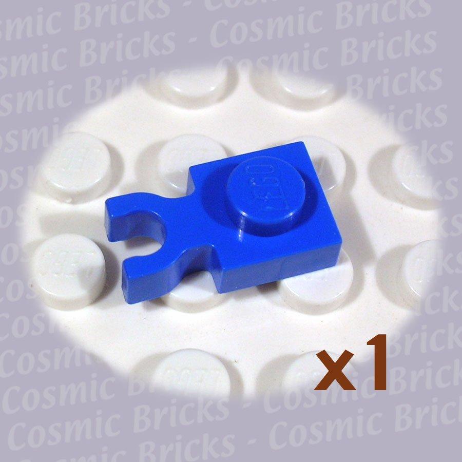 LEGO Blue Plate Modified 1x1 Clip Vertical 408523 4085 (single,U)