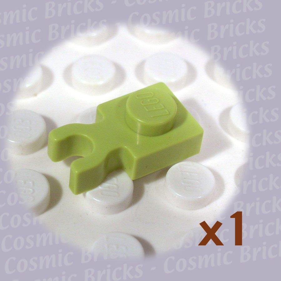 LEGO Medium Lime Plate Modified 1x1 Clip Vertical 4262029 4085 (single,N)