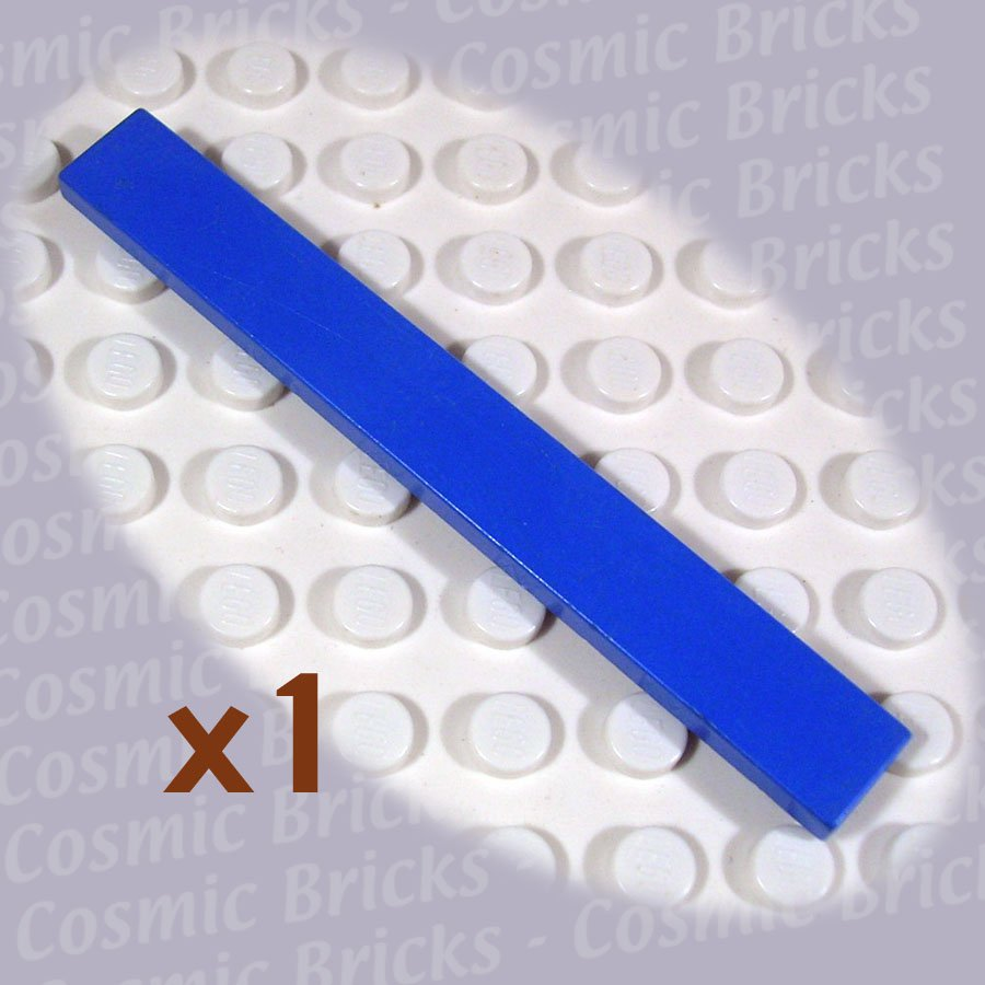 LEGO Blue Tile 1x8 416223 4162 (single,U)
