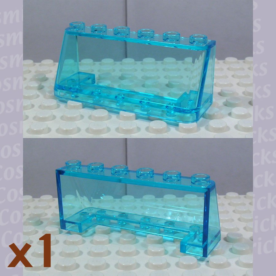 LEGO Trans-Light Blue Windscreen 2x6x2 4287016 4176 (single,N)