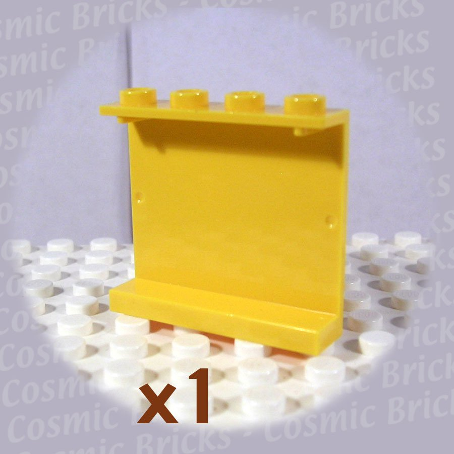 LEGO Yellow Panel 1x4x3 Hollow Studs 4215 (single,N)