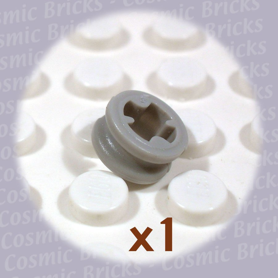 LEGO Light Gray Technic Bush 1/2 Smooth 4110050 32123 (single,N)