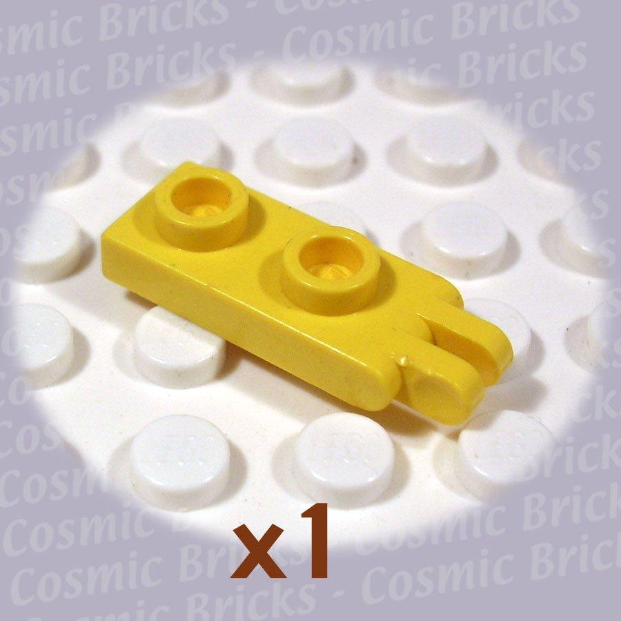 LEGO Yellow Hinge Plate 1x2 2 Fingers 4276 (single,U)