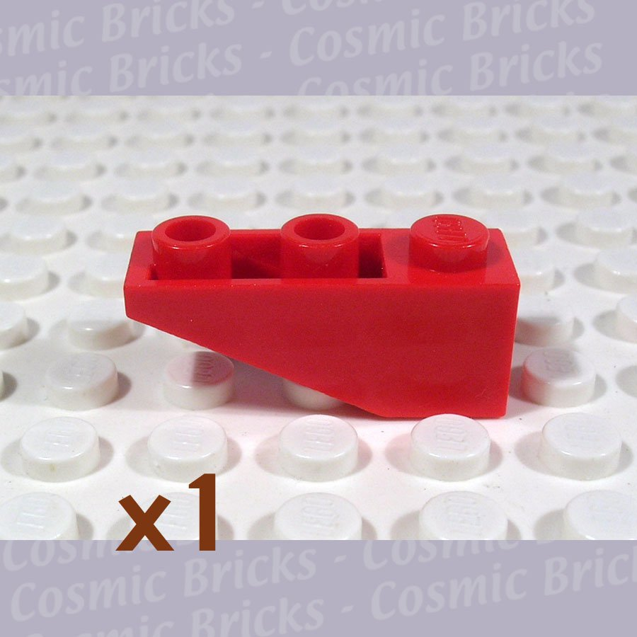 LEGO Red Slope Inverted 33 3x1 428721 4287 (single,U)